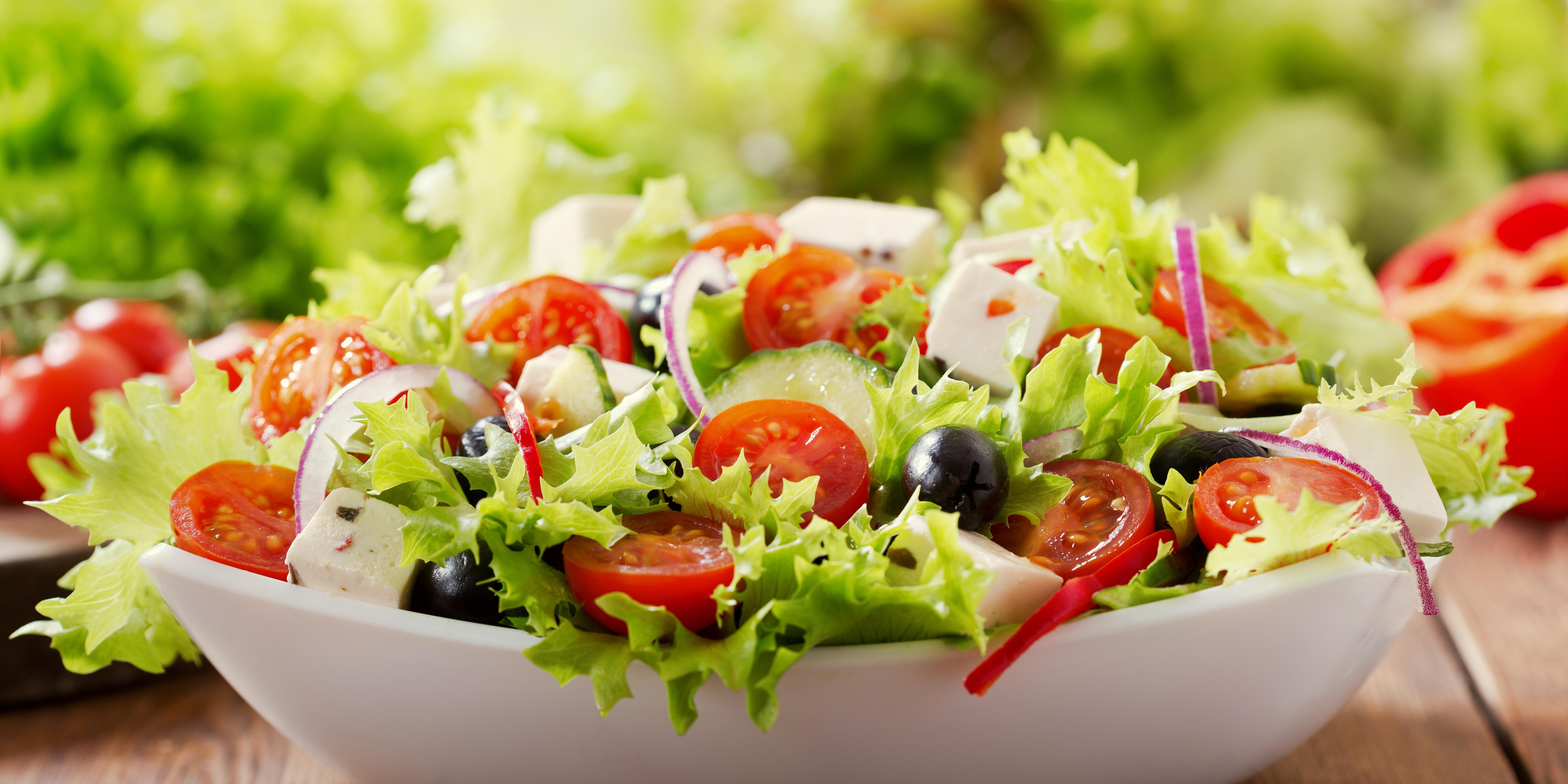 4 schnelle Salat-Rezepte