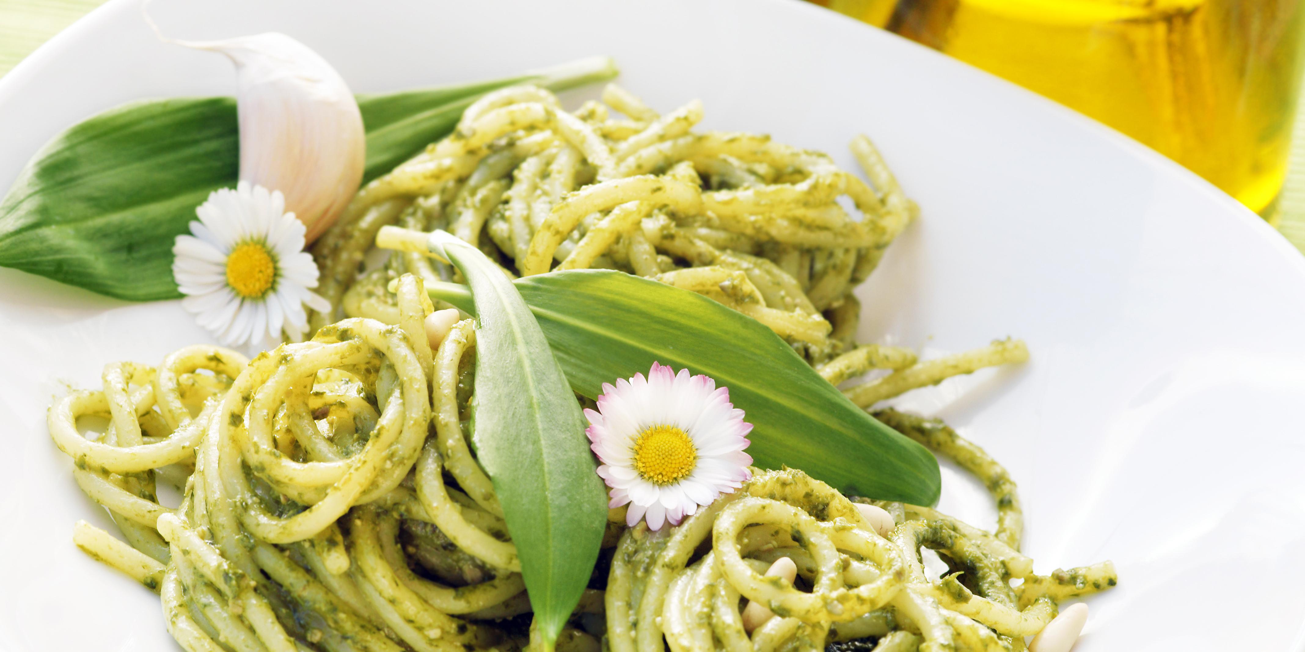 3 grüne Pasta-Rezepte für deinen Frühlingsbeginn